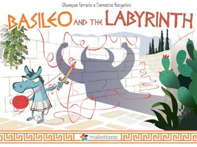 Basileo – an original storybook, a game, a drawing book, a